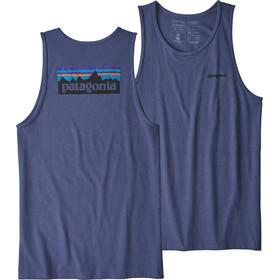 Patagonia M's P-6 Logo Responsibili-Tee Tank Dolomite Blue